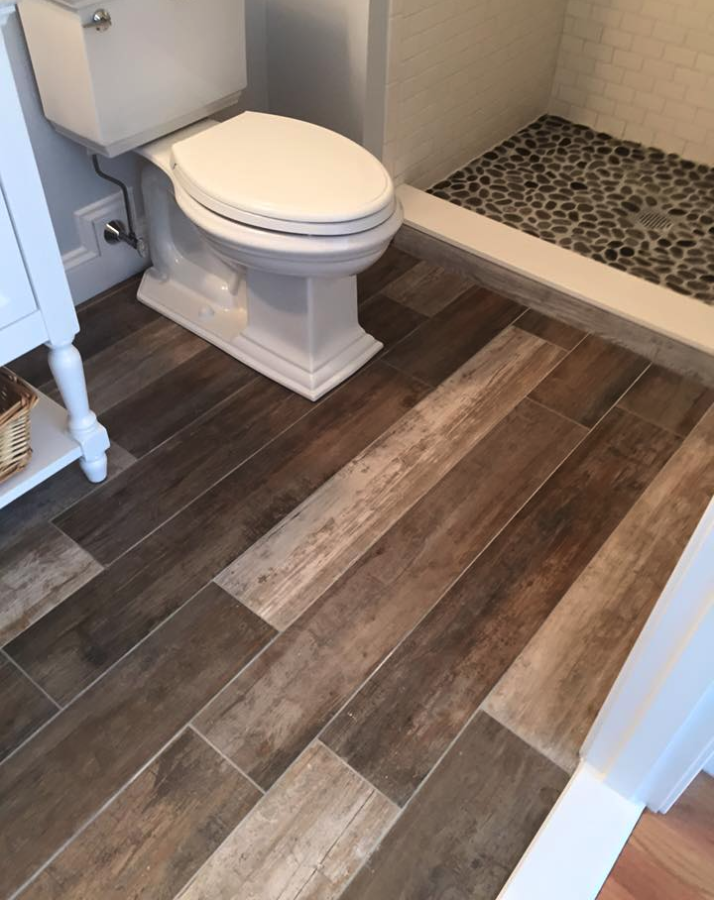Bathroom Floor Tile Wood Flooring Spa Like Bathroom Renovation Wood Grain Tile Pebble Wood Tile Bathroom Wood Grain Tile Wood Look Tile Floor