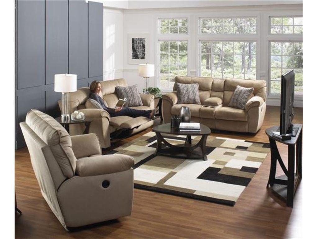 Catnapper Furniture Living Room Extra Wide Reclining Sofa 1111 ...
