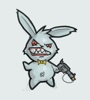 Evil Bunny Productionz Evil Bunny Cartoon Clip Art Graffiti Characters