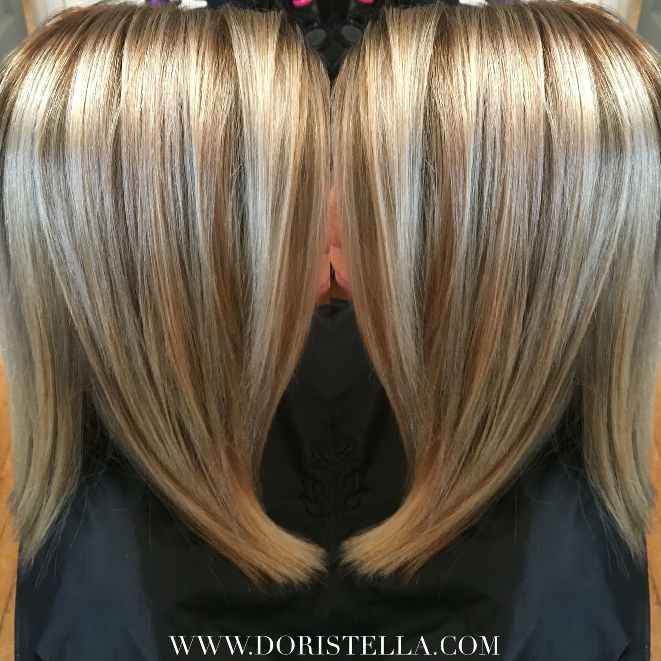 Beautiful Dimension On This Sandy Beige Blonde With Platinum