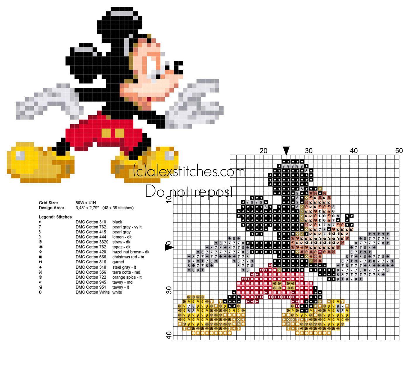 Gemütlich Häkeln Mickey Maus Frei Muster Zeitgenössisch ...