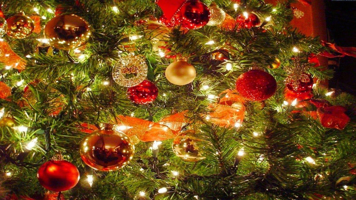 Tree Decor Christmas Puter Free Inspiritoo 1366x768 Christmas