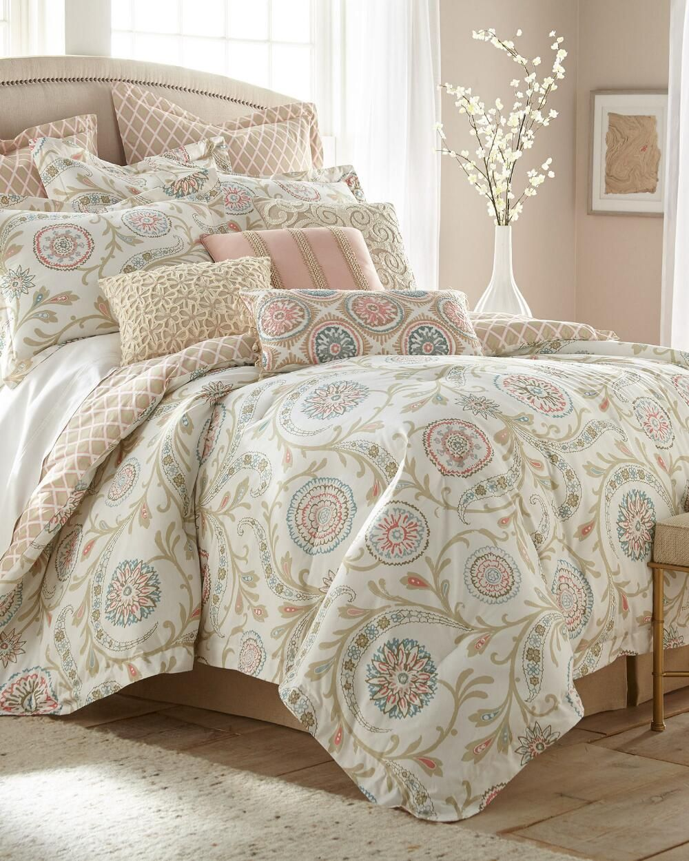 Exclusively Ours 5 Piece Ceylon Comforter Set