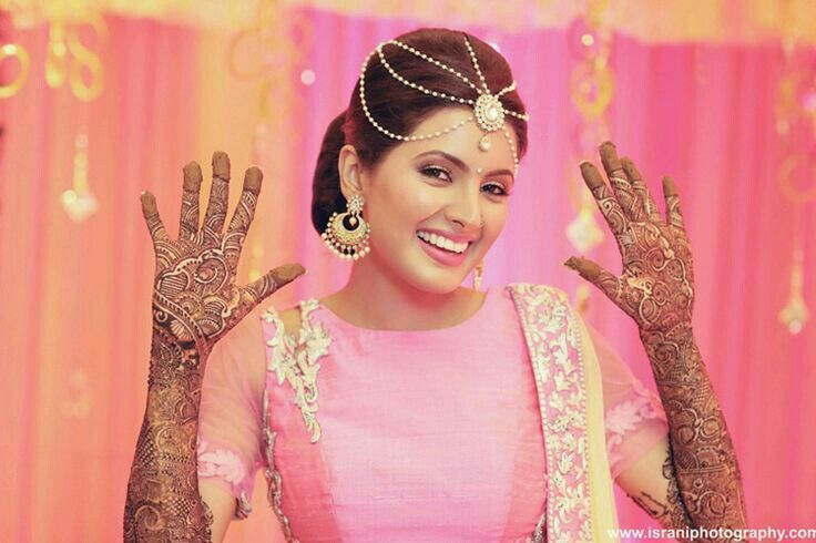 Bridal Mehndi In Jalandhar : Harbhajan singh geeta basra wedding momemts from mehandi to