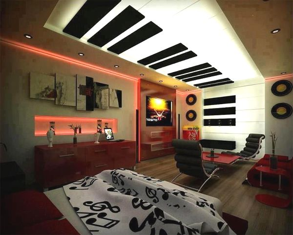 34 Awesome & Dazzling Teens\' Bedroom Design Ideas 2017 … [UPDATED ...