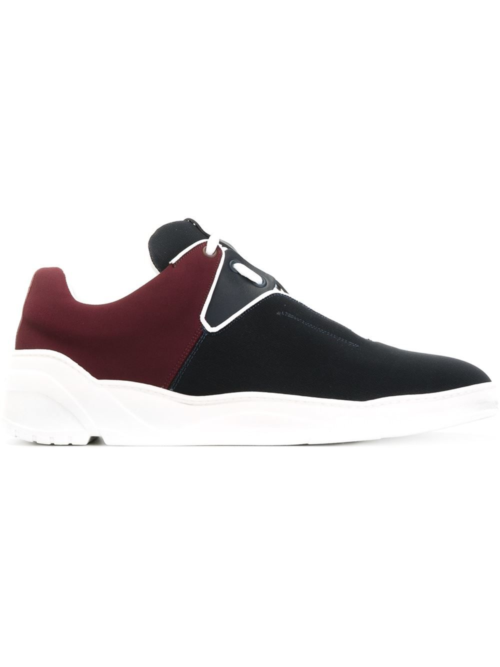 dior homme panelled running sneakers adidas archive