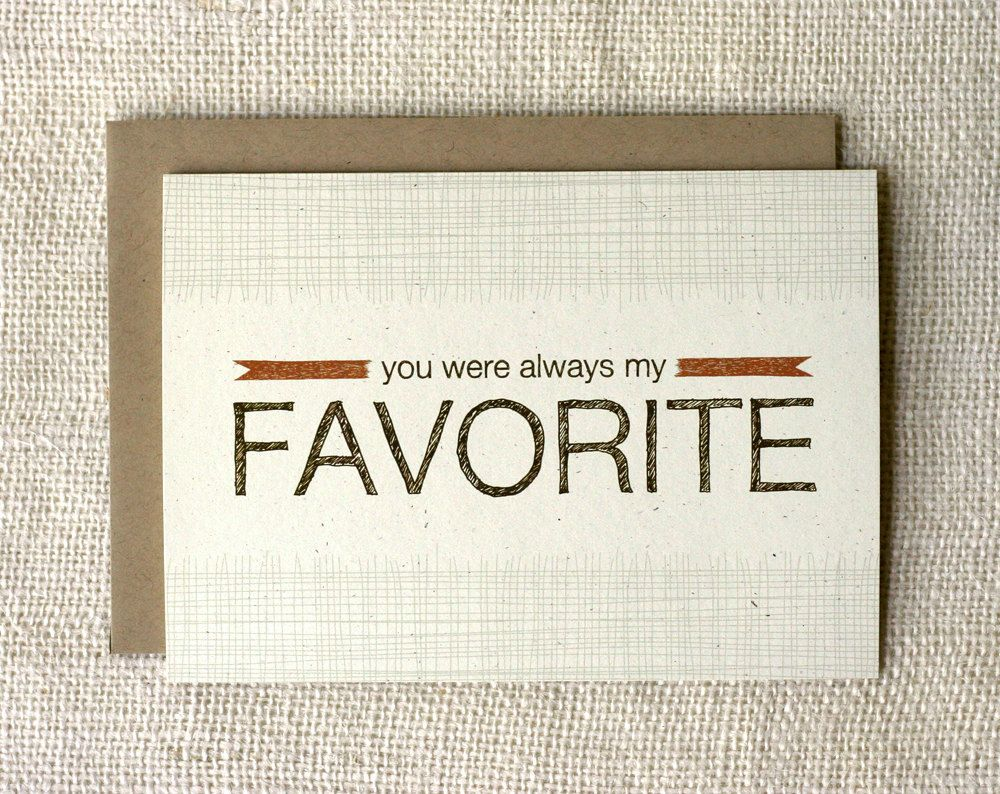 Fathers Day Card Favorite Brown Envelopes Envelope Sizes And