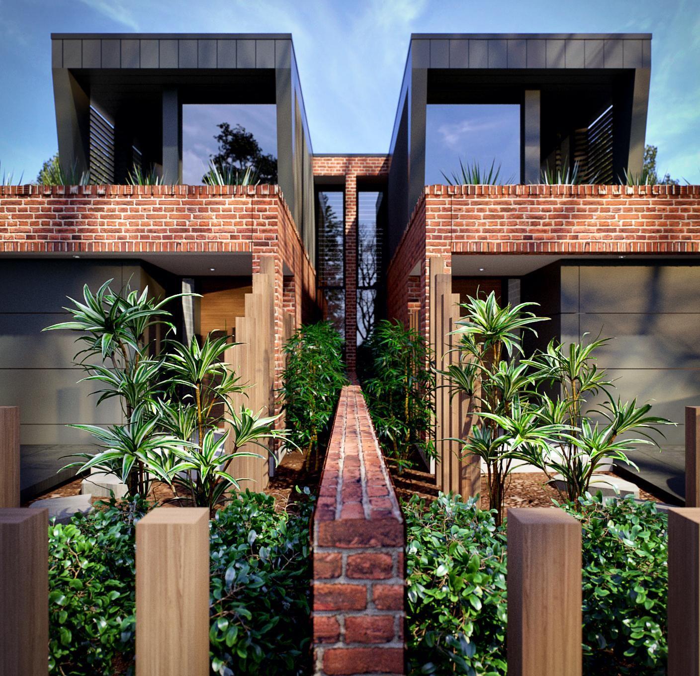 Home Design Ideas Architecture: Contemporary Dual Occupancy/ Duplex Design In Matraville