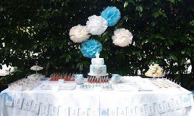 Buffet Di Dolci Battesimo : In cucina mi rilasso un battesimo in giardino torta e
