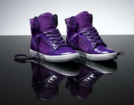 e956bce451d1 Supra Spring 2010 Skytop Comes in a Plethora of Pigments  radiantorchid   color trendhunter.com