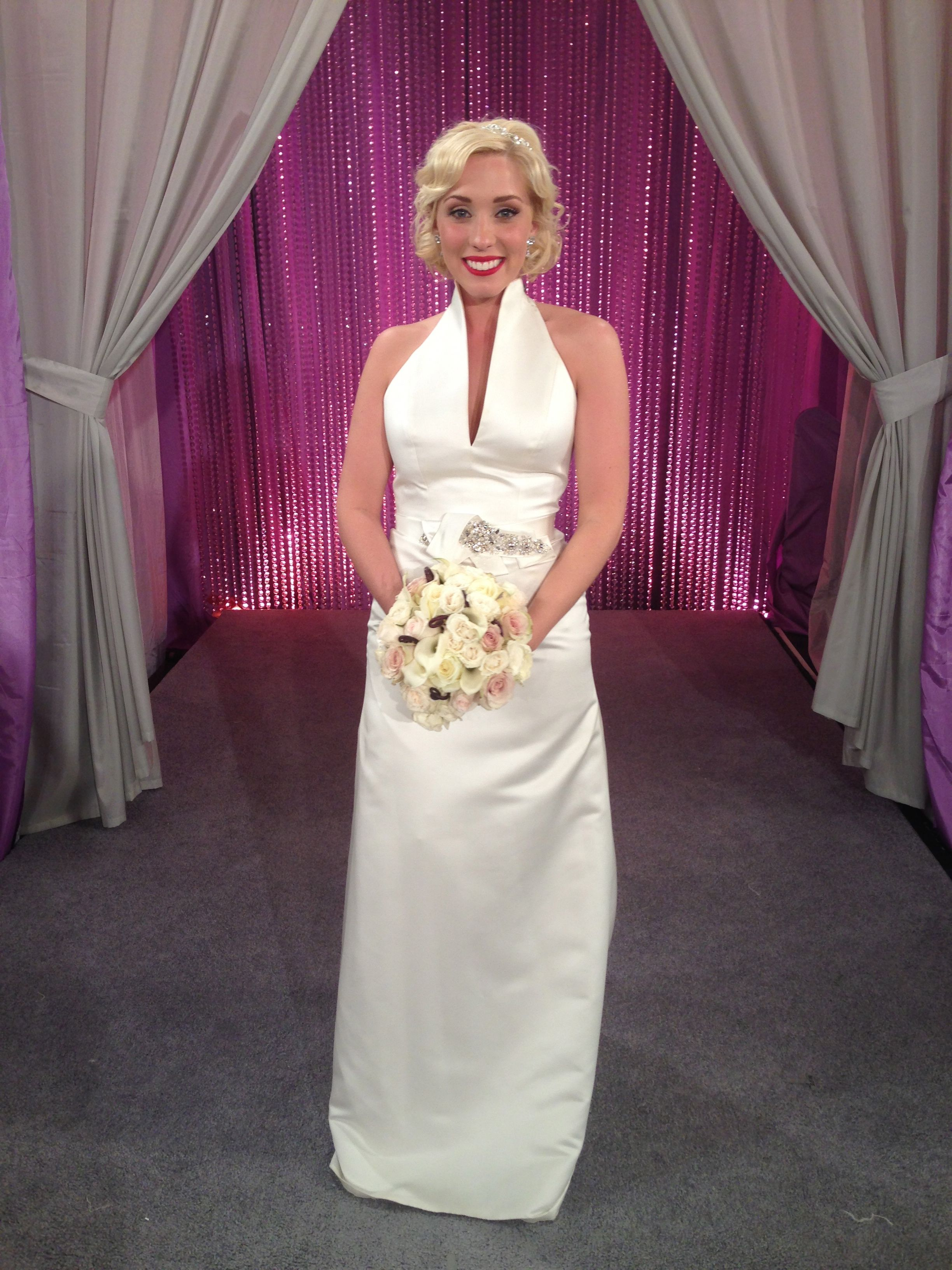 Colleen is the most amazing bride with her sense of style