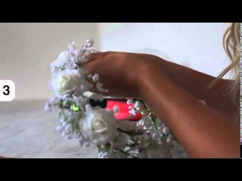 ▶ Hair tutorial: Flower Crown by Fanny Lyckman (http://imnext.se/fannylyckman/)…
