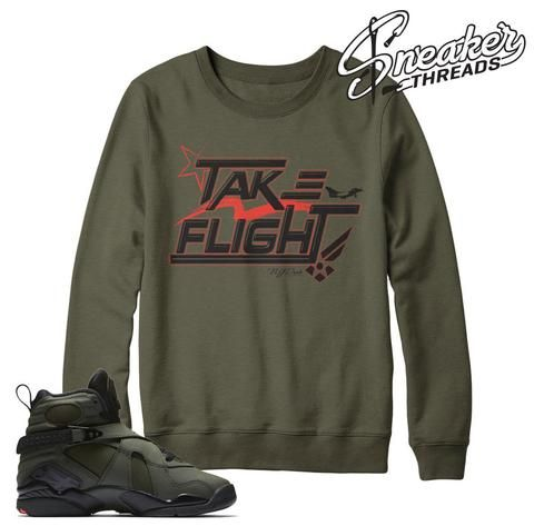399e0d426fbedf Take flight Jordan 8 sweatshirt match shoes. Take flight 8 s ...