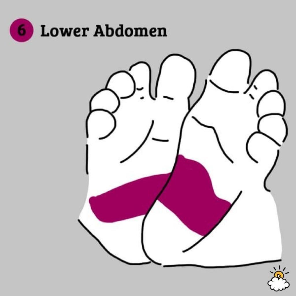 Calmez instantanément un bébé grincheux en massant ces 7 points sur ses pieds !