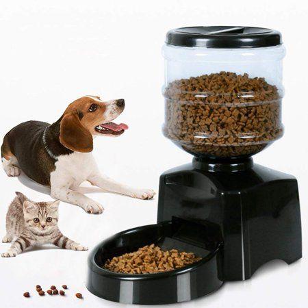Zone Tech Self-Dispensing Pet Feeder Premium Quality Durable Self-Dispensing Gravity 1 Gallon Pet Feeder