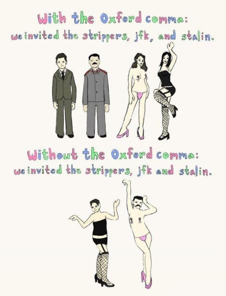 The Strippers, JFK, and Stalin...