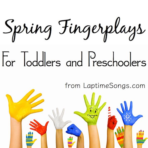 5 Spring Fingerplays for toddlers and preschoolers | Rhymes ...