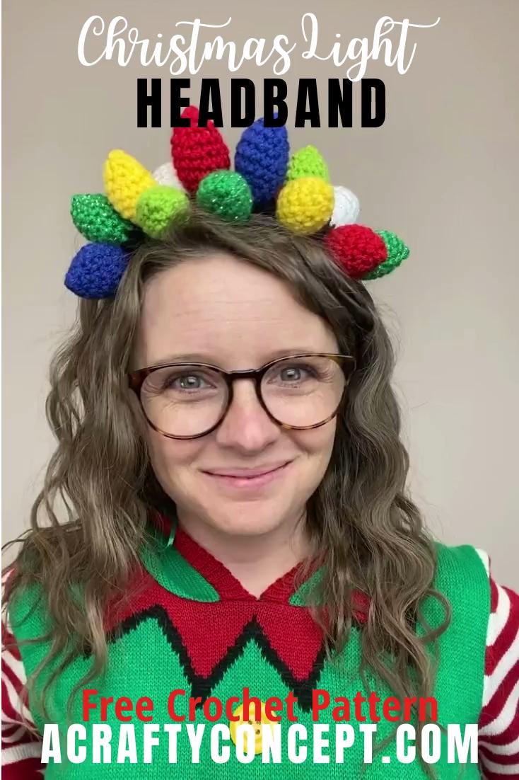 Photo of Crochet Christmas Crown