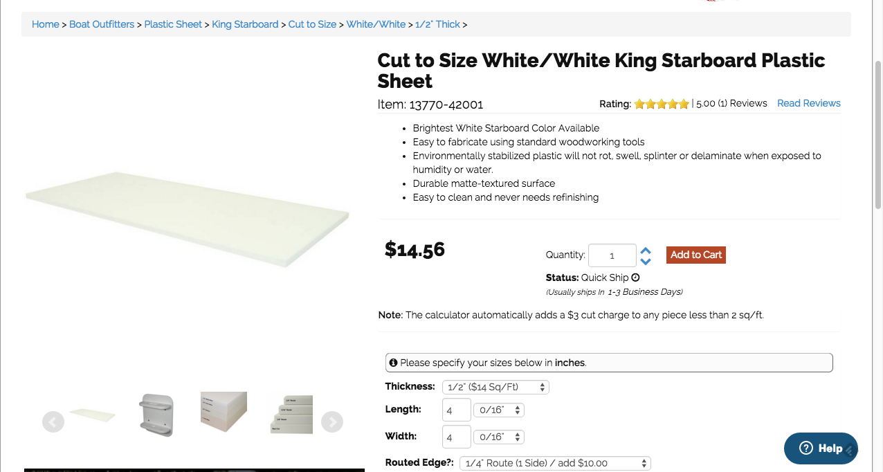 White White King Starboard Plastic Sheets With Images White King Plastic Sheets Starboard