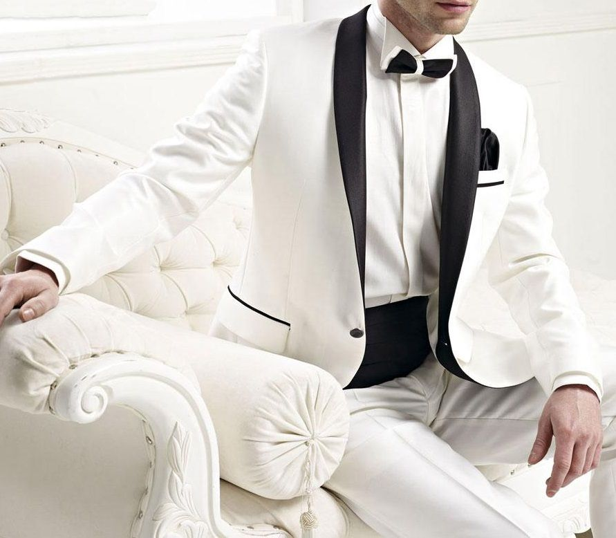 Dashing #white #tuxedo for a special #occasion, come and visit ...