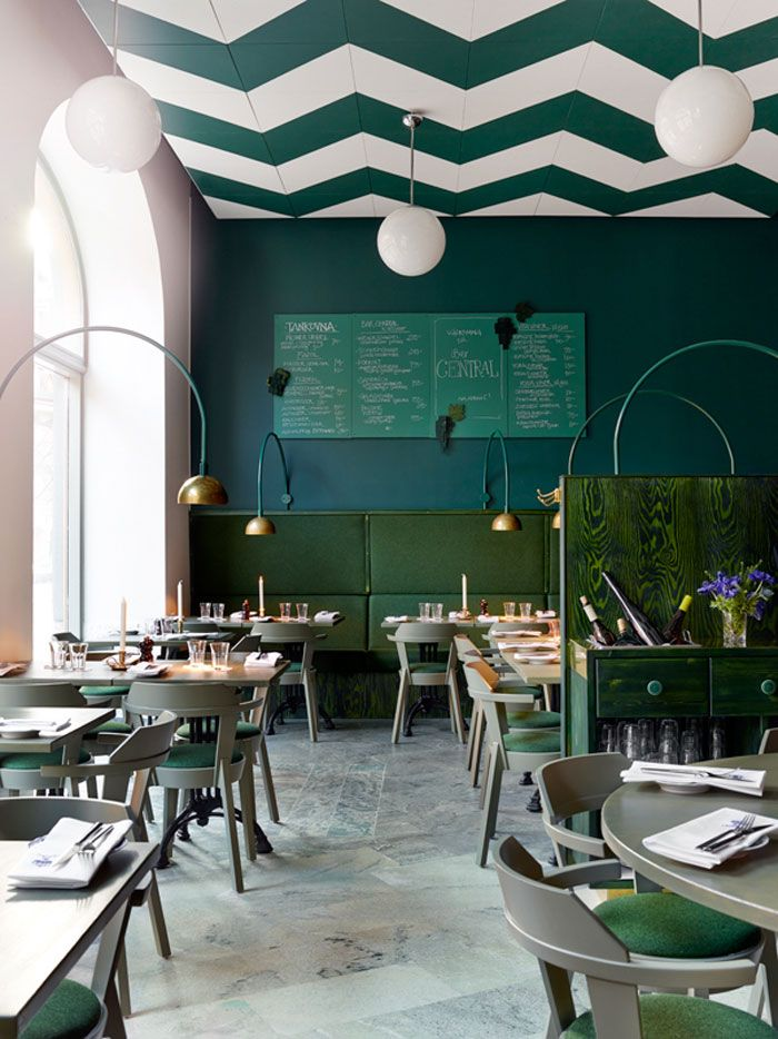 Stylish Bar Central in Stockholm Opens a Second Venue (Nordic Design ...