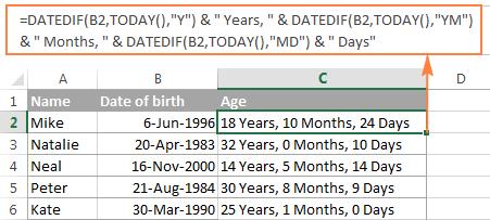 dating age în maryland