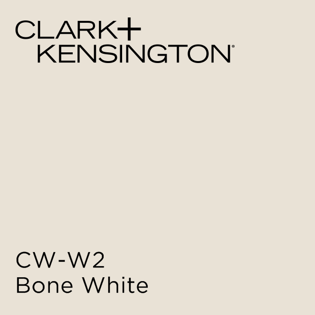 Bone White By Clark Kensington Trim Color Eggshell Enamel W Primer