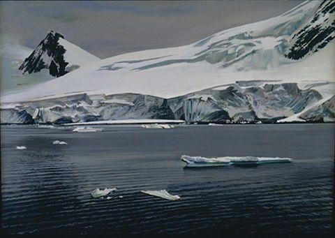 Antarctica IV by Richard Estes