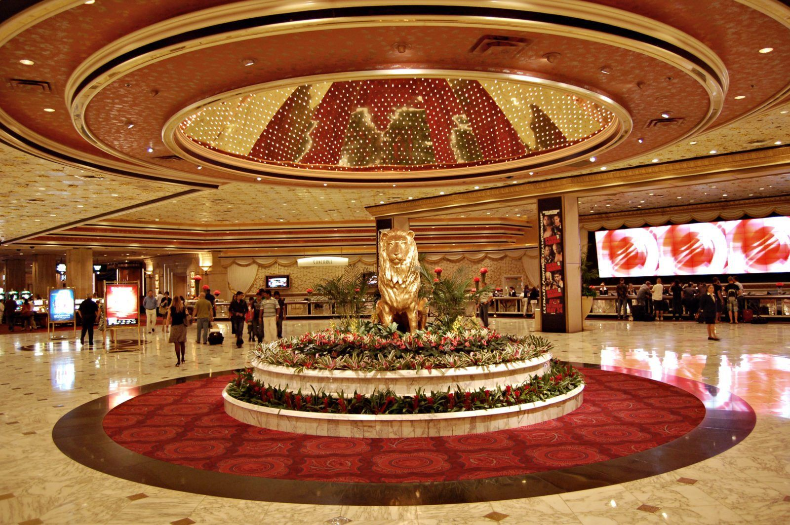 The MGM Grand Las Vegas, which opened in 1993, is a hotel casino ...