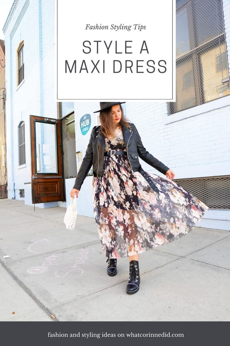 Different ways to style a maxi dress and  rock that look this spring! #stylingtips