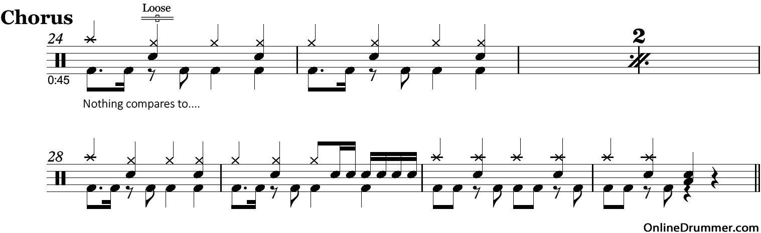All Music Chords paramore sheet music : crushcrushcrush – Paramore – Drum Sheet Music | OnlineDrummer.com ...