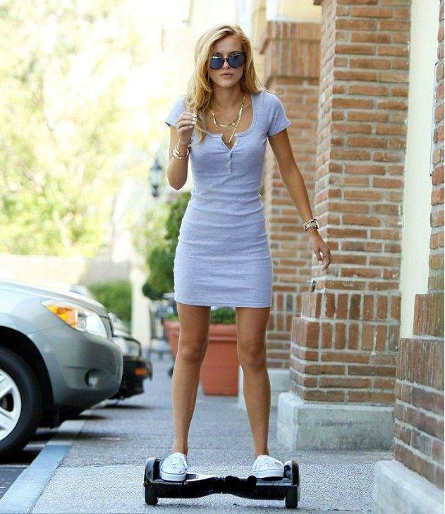 Self Balancing Electric Hoverboard Fashion Outfits Shirt Dress