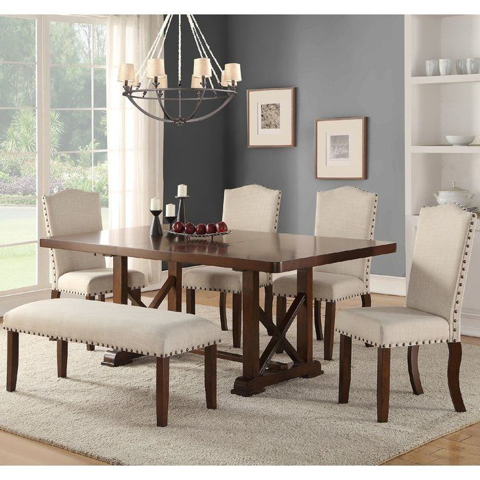 Chevaliers 6 Piece Dining Set From Wayfair Traditional Dining Rooms Dining Room Sets Dining Chairs
