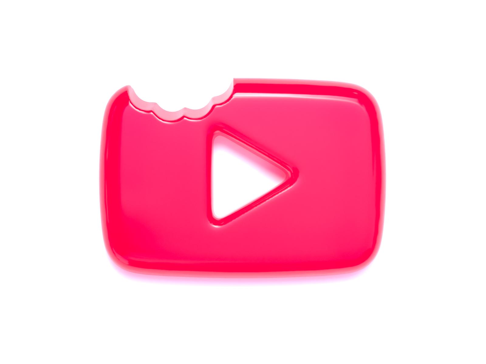 Youtube Logo Gummy Style Youtube Logo Logos App Icon Design