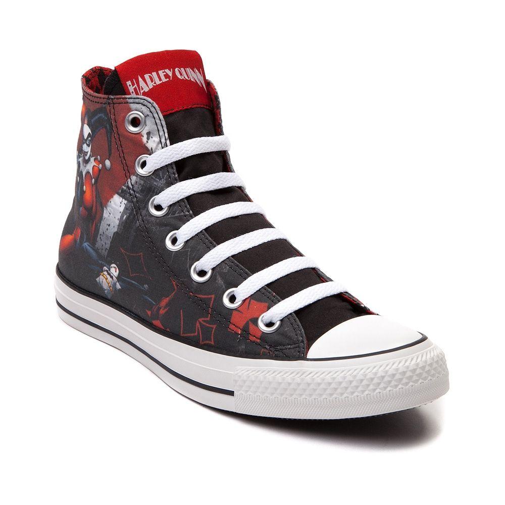 Women's 8 Converse All Star Harley Quinn Sneaker