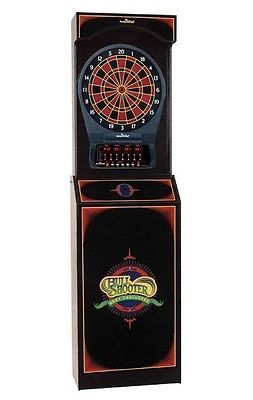 Bullshooter Arcade Style Dartboard Cabinet w/ Cricket Pro 650 ...