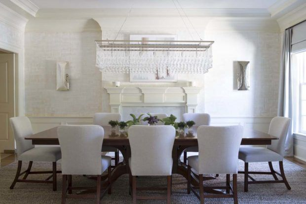 In Good Taste Amy Aidinis Hirsch Interior Design Dining/Breakfast - Beautiful Dining Rooms
