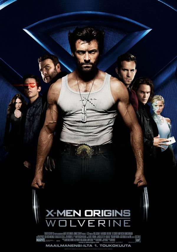 If You Are A Big Hugh Jackman And X Men Fanatic Then I Wuld Watch This Movie Wolverine Movie Wolverine 2009 Wolverine Poster