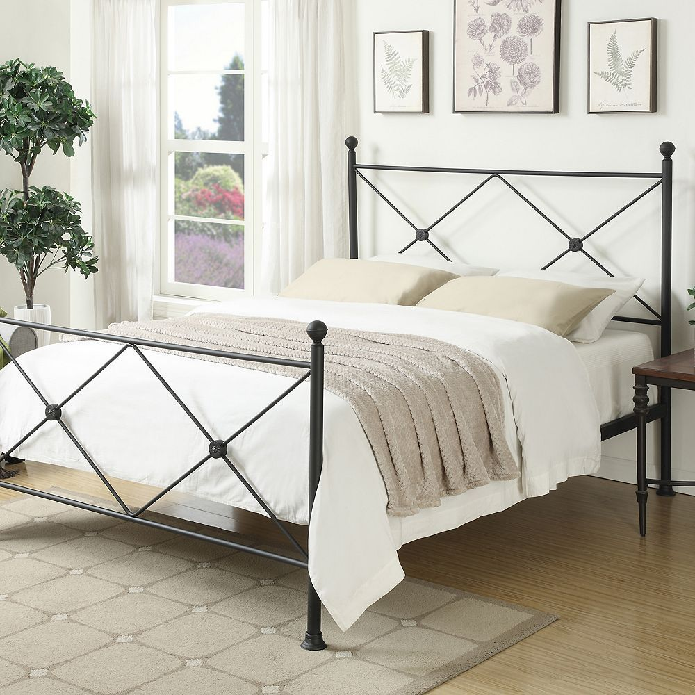 Pulaski AllNOne XFrame Queen Metal Bed Queen metal