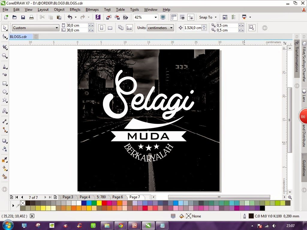 Dyne Creative Studio TUTORIAL COREL DRAW CARA MEMBUAT