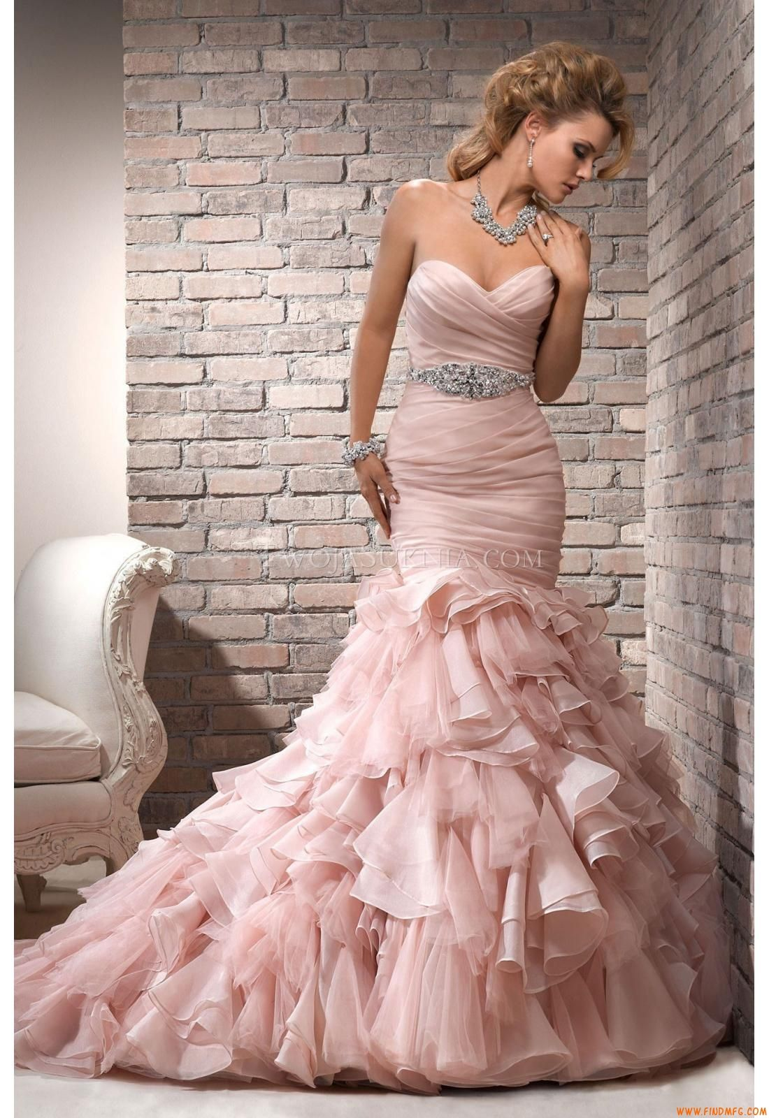 Vestidos de noiva Maggie Sottero Divina Divina | Alta Costura ...