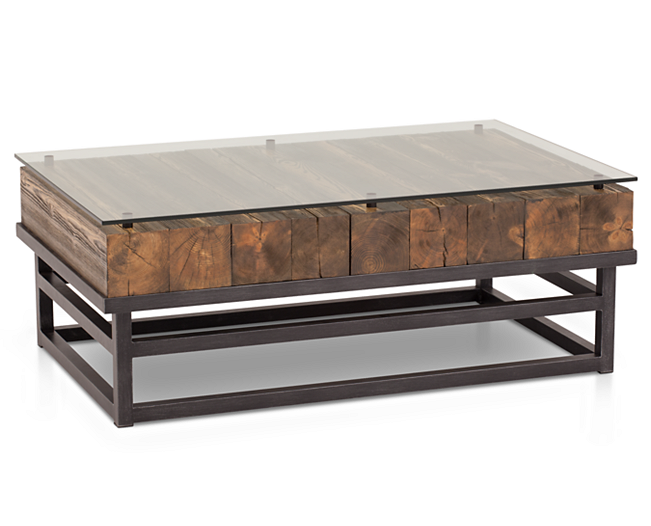 coffee tables-lost city coffee table-lodge inspired elegance