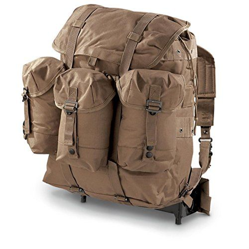 Alice Pack Import With Frame Coyote Brown Size Large All Equipments Gadgets And Gears Under One Roof Military Backpack Military Fashion Military