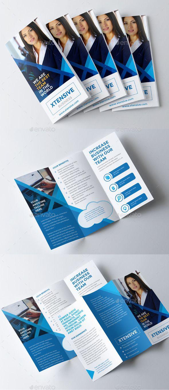 Xtensive Business Brochure | Brochure template, Business brochure ...