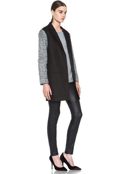 DIANE VON FURSTENBERG Keziah Jacket in Black #Black #Keziah #DianeVonFurstenburg #Jacket