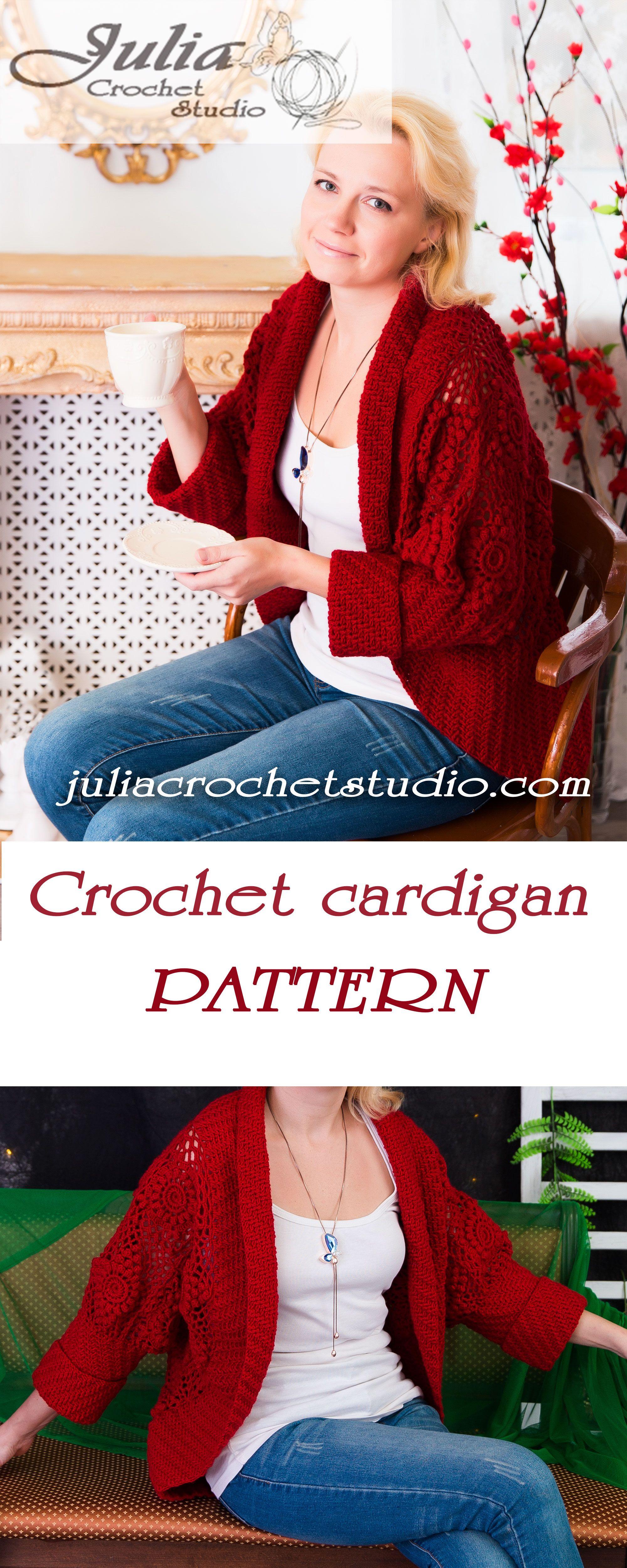 Crochet cardigan pattern. #crochet, #crochetpattern, #crochetcardigan, #crochetcardiganpattern, #warmcrochetcardigan