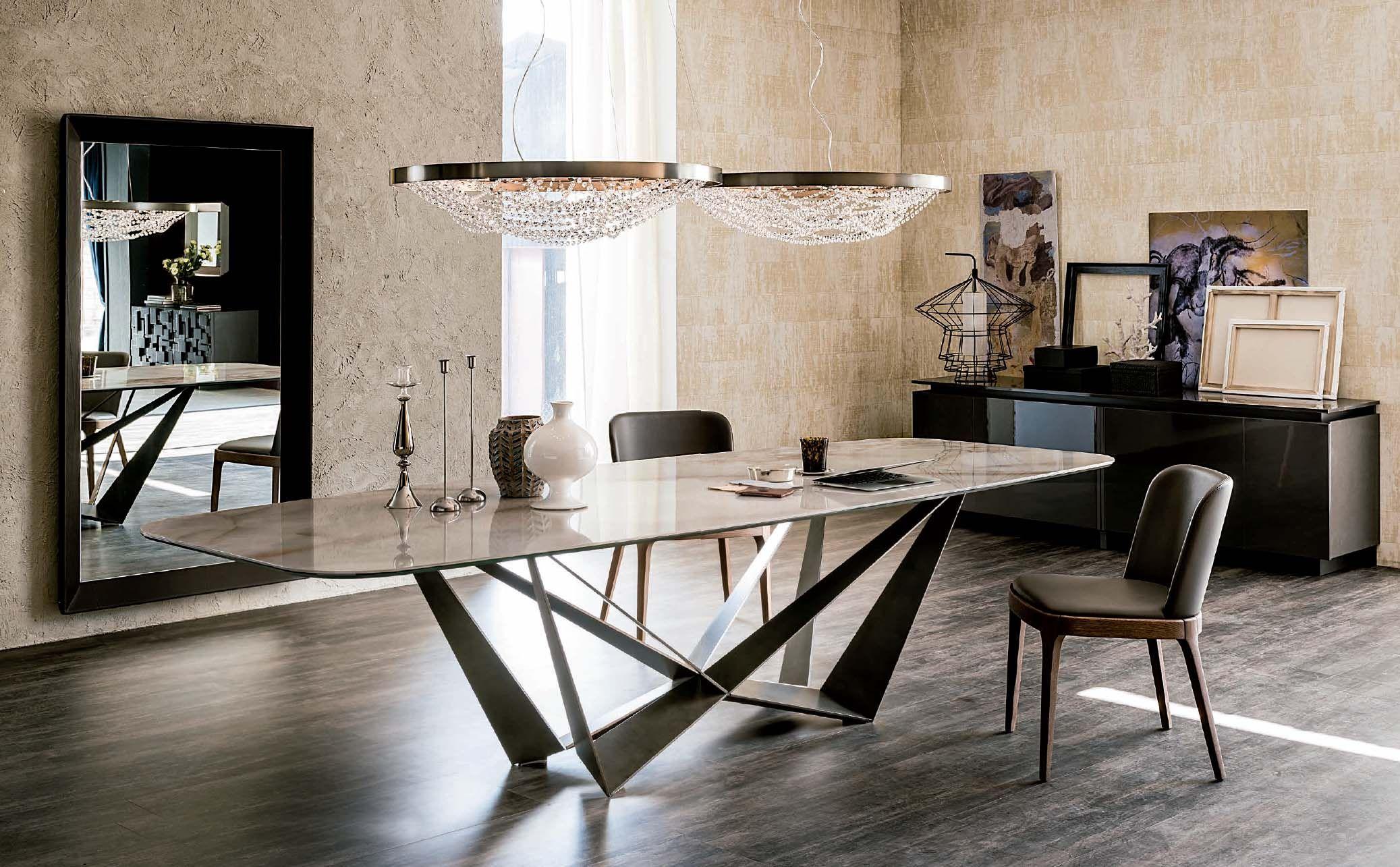 Mesa de Comedor de Diseño Italiano | Mesas de Comedor de Diseño ...