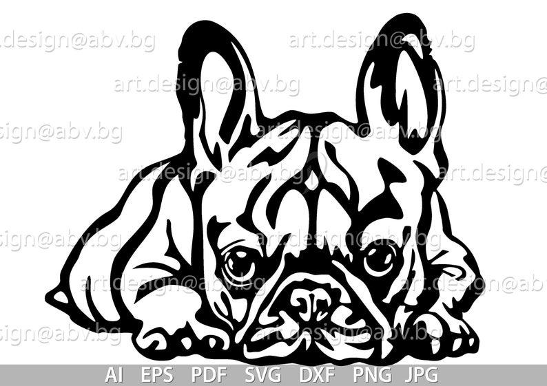 Vector French Bulldog Svg Ai Png Pdf Eps Dxf Jpg Etsy In 2021 French Bulldog Tattoo French Bulldog Drawing French Bulldog Cartoon