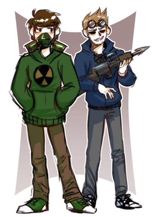 Apocalypse Edd and Tom | EddsWorld!~ | Fandoms, Edd, Art