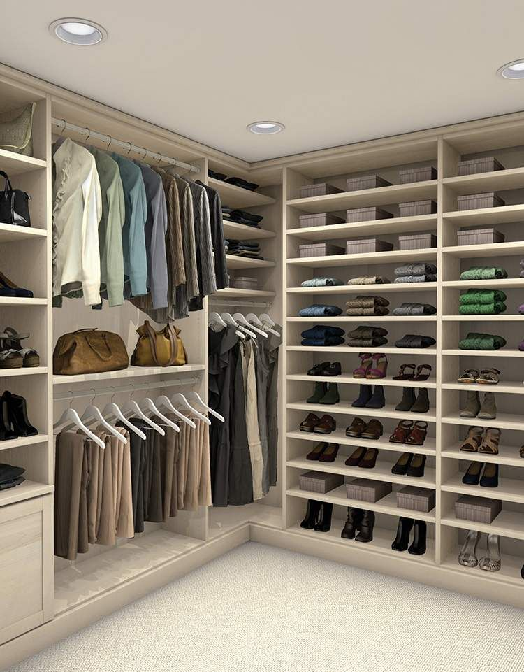 See Colors, Finishes And Details For Your Dream Closet By TCS Closets By  The Container Store. TCS Closets Are Luxury Custom Walk In Closets Staged  And ...